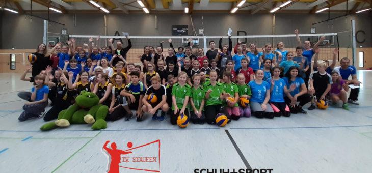 9.11.19 Großes Volleyball-Jugendturnier beim TV Staufen